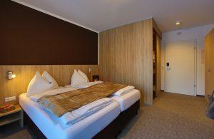 Motel Zimmereinrichtung eines FairSleep Motels
