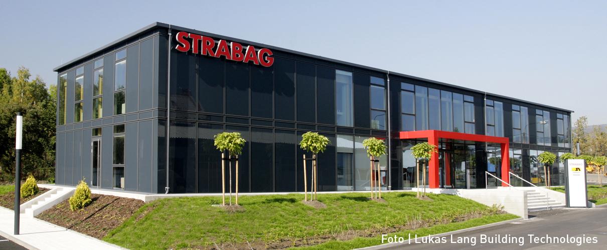 Gebäude in Holzsteckbauweise von Lukas Lang Building Technologies