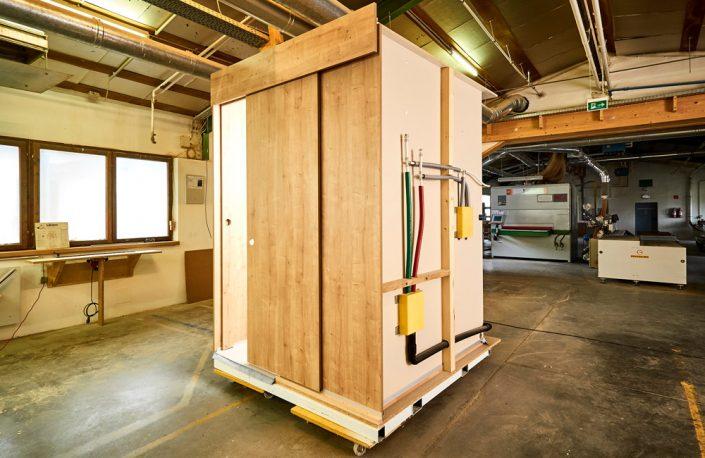 Innvoative Nasszelle-Badzelle für den modularen Hotelbau