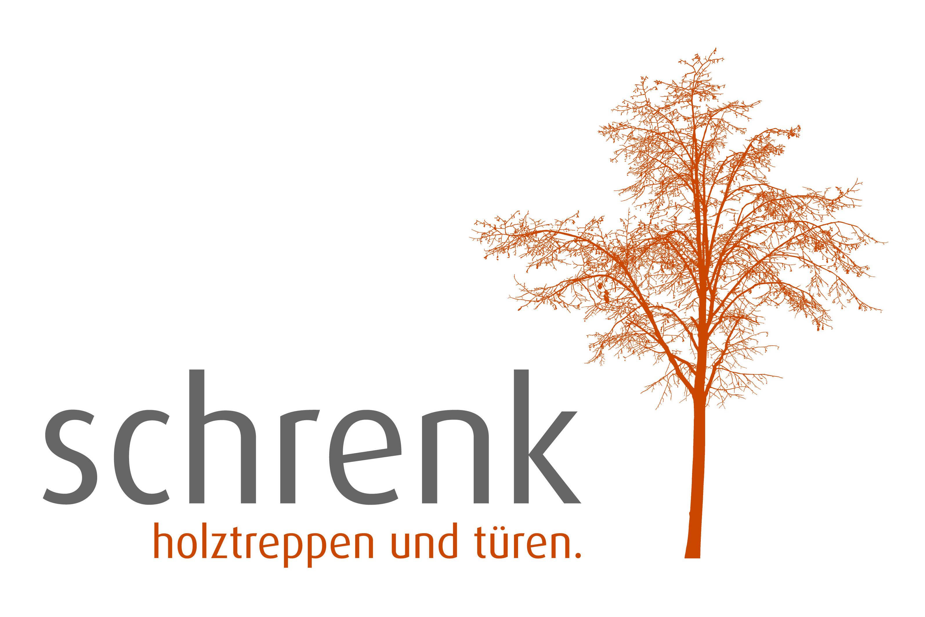 Logo und Fotos - Schrenk Holztreppen und Türen