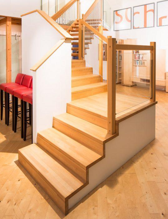 Treppenbelegung Kronos für Rohbau- und Betonstiegen