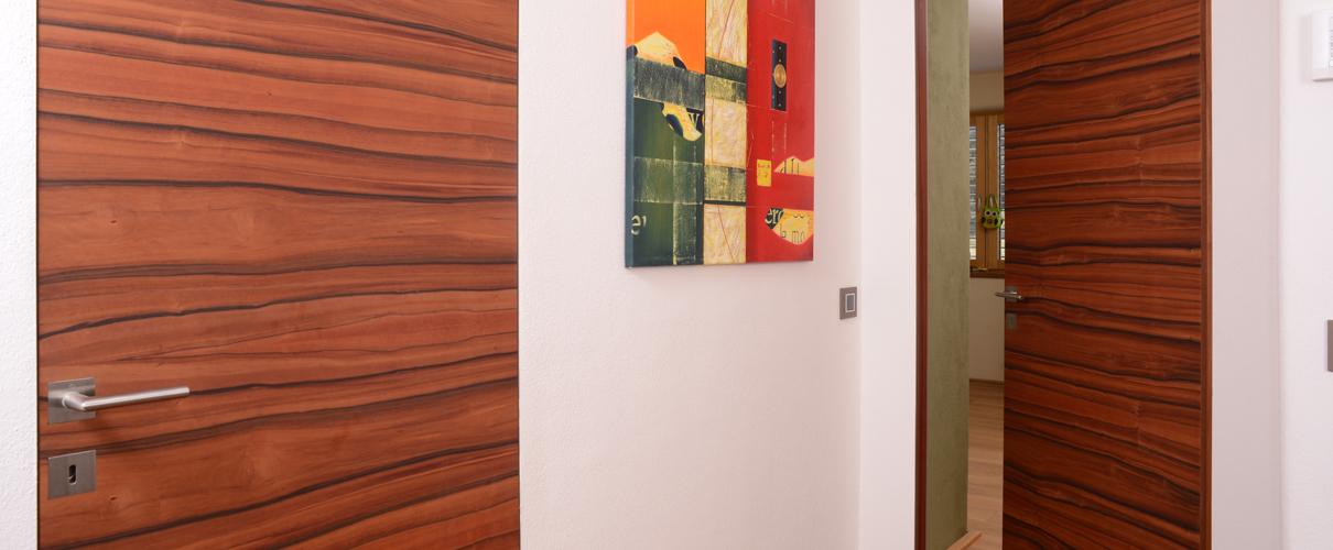 Wandbündige Innentüren, Furniertür Lagos