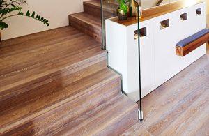 Designtreppe Perseus - Treppe passend zum Parkett