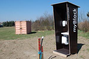 myBlock Waschblock - Baustellenhygiene und Geschäftshygiene