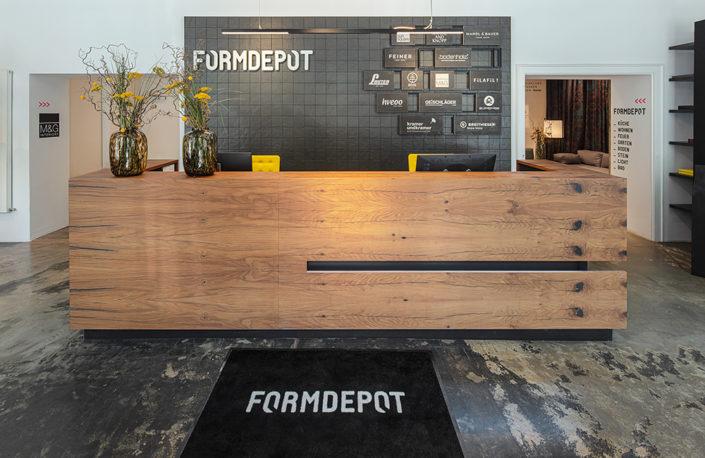 FORMDEPOT - Empfang - © Fotografie Gabriel Buechelmeier