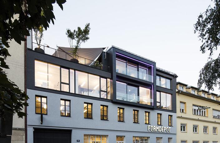 FORMDEPOT - Außenansicht - © Fotografie Gabriel Buechelmeier